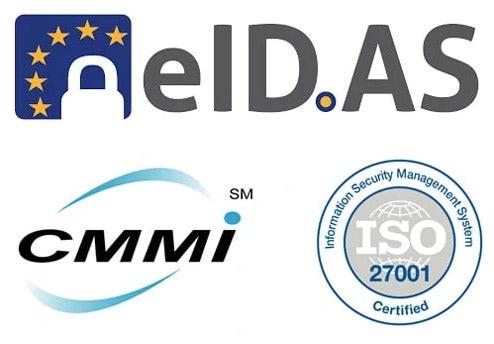 Bảo mậteIDAS, CMMI, Security ISO 27001