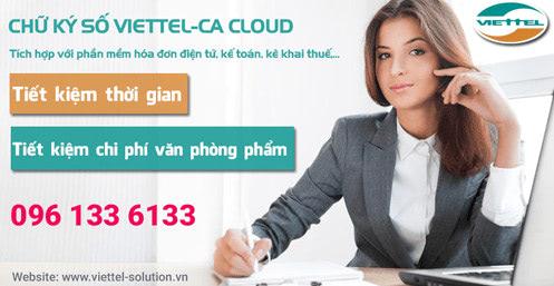 Viettel-CA Cloud tích hợp với nhiều phần mềm như: Hóa đơn điện tử, kế toán, kê khai thuế…